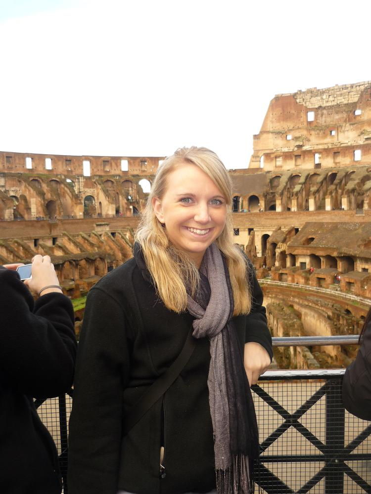 Colleen S in Rome