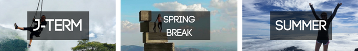 J-Term/SpringBreak/Summer